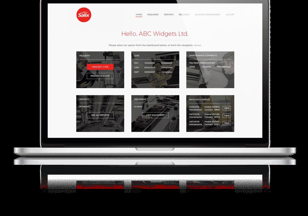 Portal Page Portal Mock Up 1000